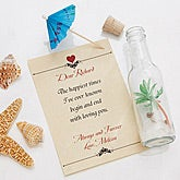 Personalized Love Letter In A Bottle