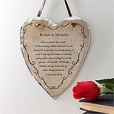 Love Is Patient Bible Verse Heart Slate Plaque - 7448