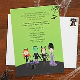 Personalized Halloween Costume Party Invitations - 7459