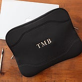 Initial Monogram Personalized Laptop Sleeve Case - 7467