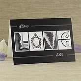 Personalized Romantic Greeting Cards - LOVE - 7470