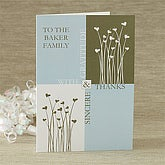 Personalized Thank You Cards - Gratitude & Thanks - 7482