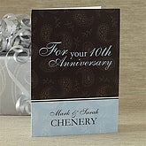 Personalized Anniversary Greeting Cards - 7486