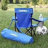 Kids Personalized Folding Chairs - Blue - 7497