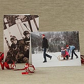 Holiday Photo Personalized Greeting Cards - 7521