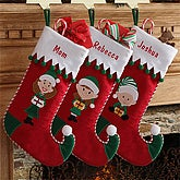 Personalized Christmas Elf Stockings