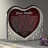 Dear Dad Personalized Gift Keepsake Sculpture - 7546