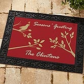Personalized Doormats - Welcome Sparrow - 7586