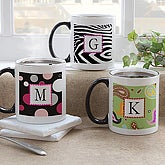 Monogram and Personalized Coffee Mugs