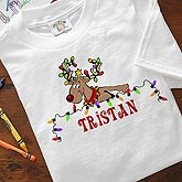 Personalized Reindeer Christmas Clothes & Apparel