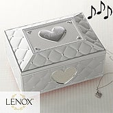 Personalized Ballerina Musical Jewelry Box by Lenox - 7678