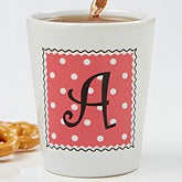 Dot to Dot© Personalized Shot Glass