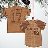 Personalized Christmas Ornaments - Sports Jerseys - 7682