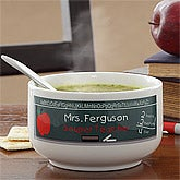 Personalized Soup Bowl for Teachers - 7684