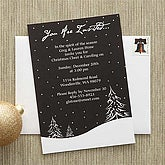 Snowscape© Personalized Party Invitations