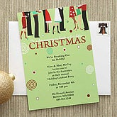 Christmas Party© Personalized Party Invitations