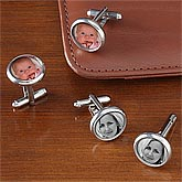Personalized Photo Cuff Links - 7701D