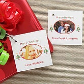 Christmas Photo Wishes© Personalized Photo Gift Tags