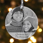 Personalized Photo Christmas Ornaments - Ceramic - 7767