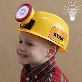 Personalized Kid's Construction Hard Hat - 7776