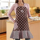 embroidered apron mom gift