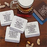 Personalized Coaster Set - Famous Quotes - 7796