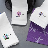 Personalized Gym Towels - Workout Girl - 7800