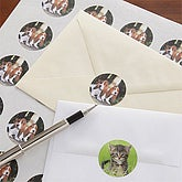 Pet Poses© Photo Envelope Seals