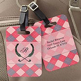 Ladies Personalized Golf Bag Tags - 7862