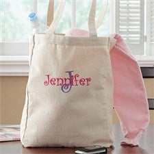 Personalized Tote Bags for Kids - All About Me - 7885