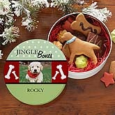 Jingle Bones© Personalized Dog Treat Tin
