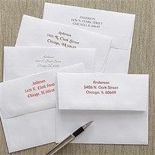Custom Printed Greeting Card Envelopes - A2 - 7913