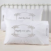 Personalized Romantic Pillowcases - Happily Ever After - 7997