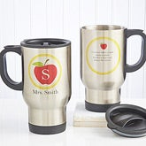 Personalized Teachers Travel Mug - Teachers Inspire - 8038