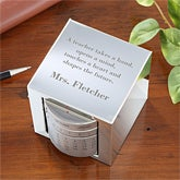 Inspiring Quotes Personalized Teacher Perpetual Calendar