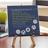 Personalized Teacher Gift Canvas - One Hundred Years From Now - 8043