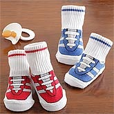 Baby Boy Gym Shoe Sock Set - 8051