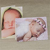 Personalized Photo Baby Birth Announcement Cards - 8053
