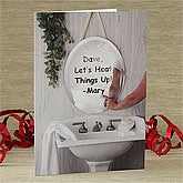 Steamy Love© Personalized Greeting Card