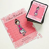 Personalized Flower Girl Gift Kids Puzzle