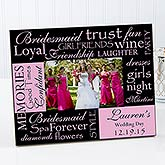 Bridesmaid© Personalized Photo Frame