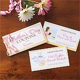 Personalized Mother's Day Coupon Book Gift - 8146