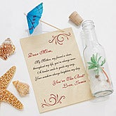 Personalized Mother's Day Gifts - Letter In A Bottle - 8154