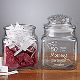 Personalized Keepsake Jars - Wonderful Things About Her - 8161