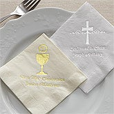 Personalized Party Napkins - Religious Holy Day - 8169