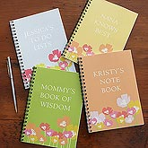 Personalized Notebooks Sets - Floral Blossoms - 8188