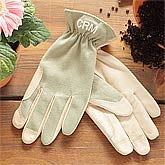 Eco-Green Leather Gardening Gloves