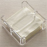 Arylic Beverage Napkin Holder - 8209