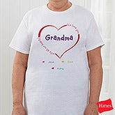 Ladies Personalized Clothing - All Our Hearts - 8218