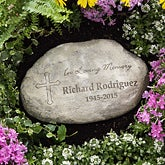 Personalized Memorial Garden Stones - In Loving Memory - 8231